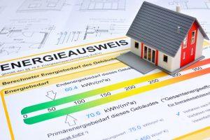 Beispielansicht eines Energieausweis für Wohngebäude