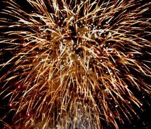 Feuerwerk Neues Jahr